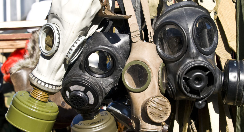 俄驻叙调解中心:叙利亚武装分子计划伪装化学武器攻击的场景