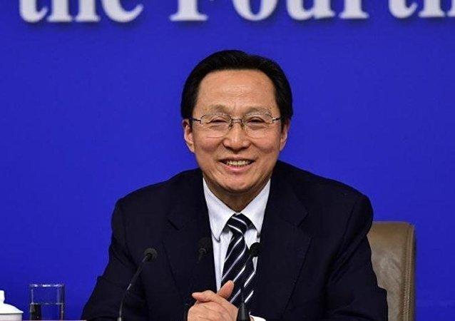 中國農業部部長韓長賦