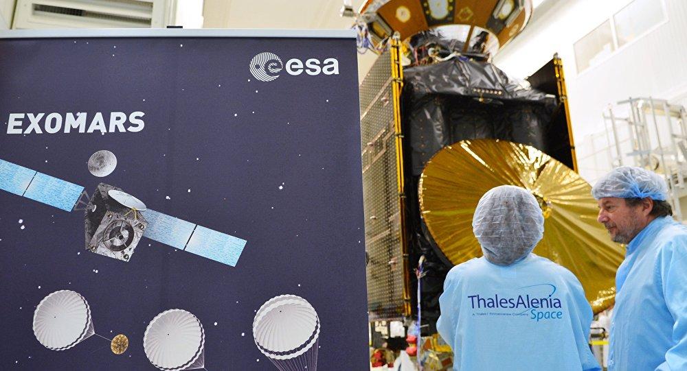 俄欧探测任务ExoMars第一阶段启动火星大气研究工作