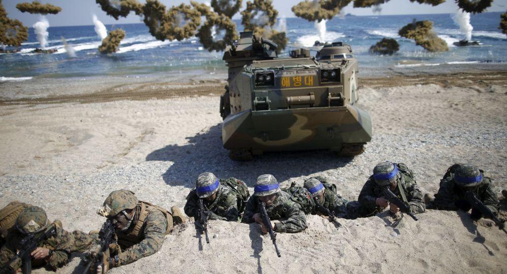 韩美或宣布于下周暂停联合军演