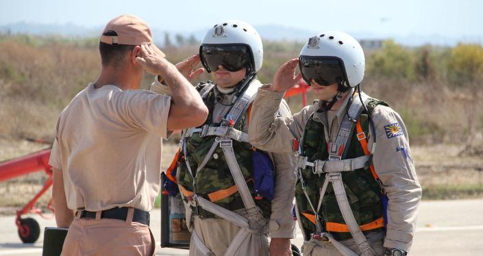 赫梅米姆空军基地和塔尔图斯军舰队物资设备保障基地为制止叙利亚和其它国家的恐怖主义提供保障。