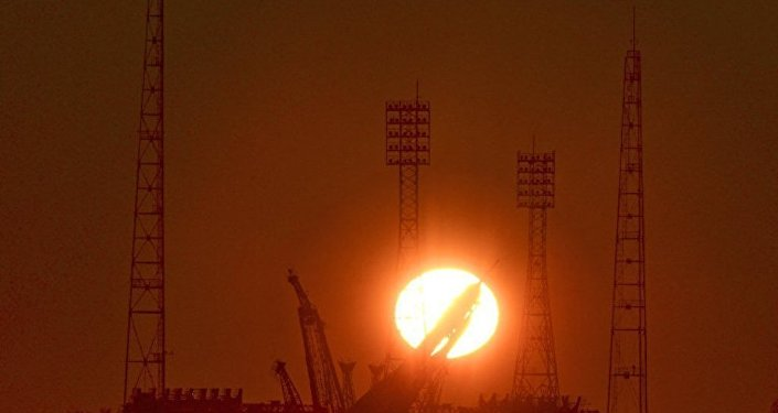 """""""联盟-FG""""火箭发射台安装工作因拜科努尔大风天气而取消"""