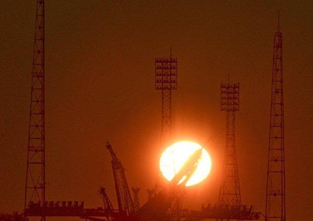 「聯盟-FG」火箭發射台安裝工作因拜科努爾大風天氣而取消