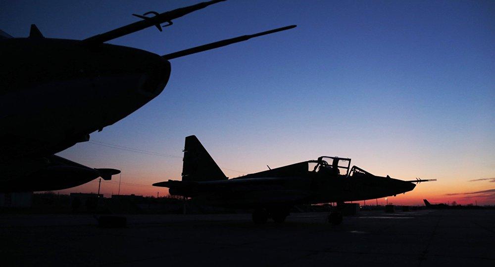 俄国防部:俄空天军一周内在叙打击恐怖分子据点1300多次
