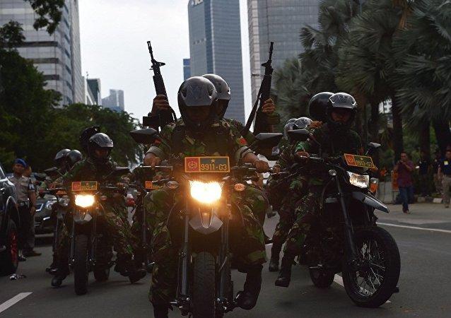 印尼國防部:該國將與菲律賓與馬來西亞舉行反恐演習