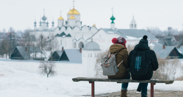 中國遊客在弗拉基米爾—蘇茲達爾保護區博物館外國遊客中居首