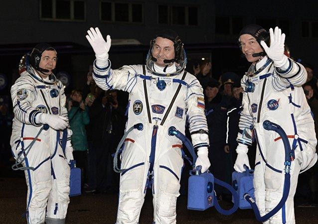「聯盟TMA-20M」飛船運載的宇航員已進入國際空間站