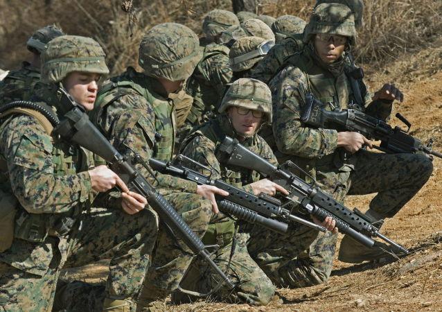 美海軍陸戰隊人
