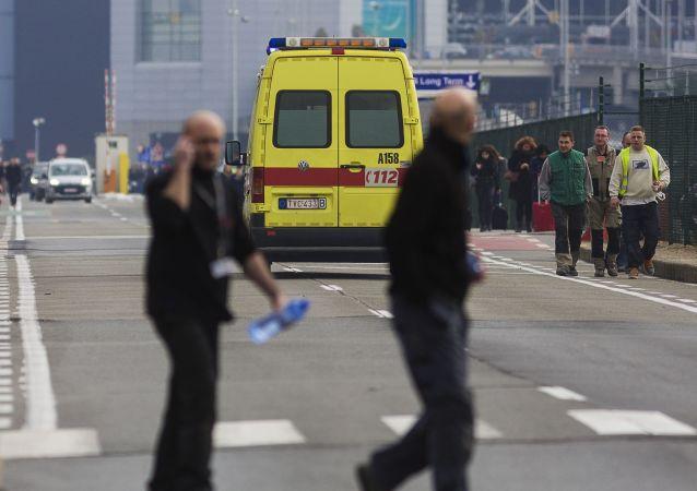 媒體:布魯塞爾機場因火災被全面封鎖
