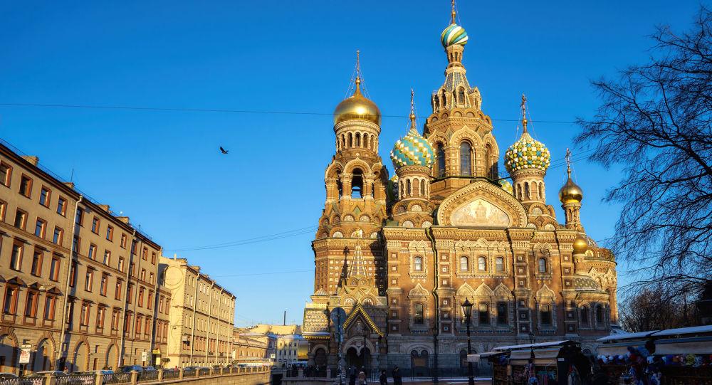 圣彼得堡的滴血救世主教堂