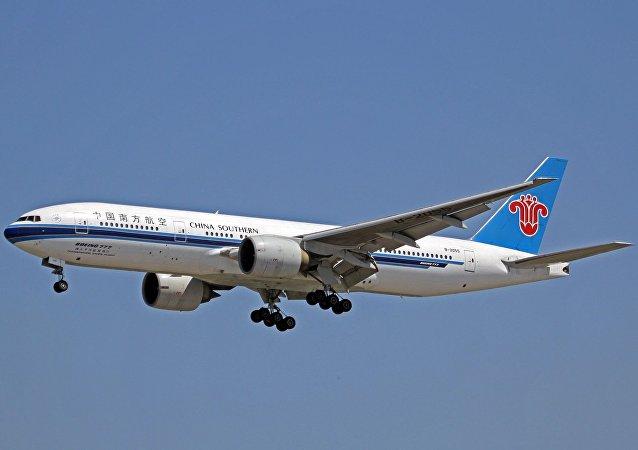 孕婦高空分娩  北京-塔什乾航班返航