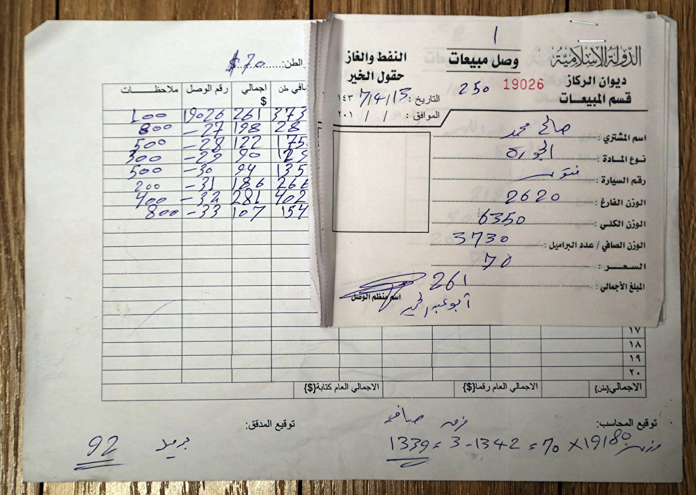 """""""伊斯兰国""""以每桶12美元价格出售石油"""