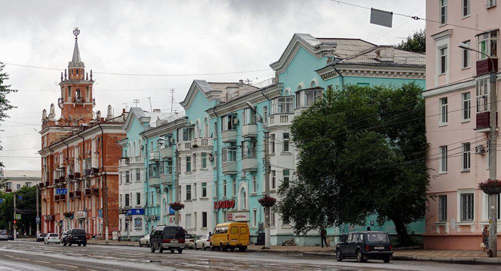 俄阿穆尔河畔共青城