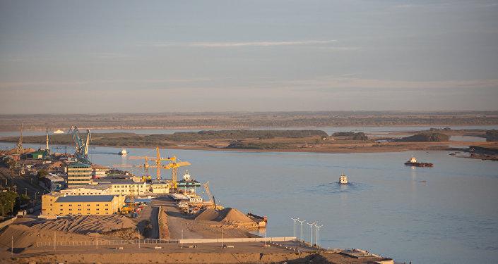 布拉戈維申斯克-黑河大橋建設正按計劃進行