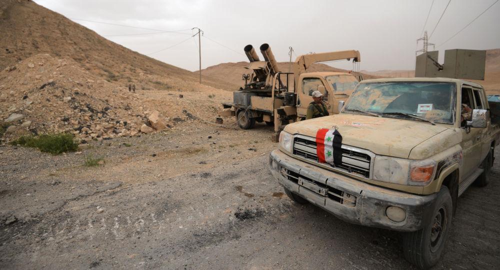 俄国防部:叙利亚政府军在俄空天部队支持下夜间击退武装分子对巴尔米拉的全部攻击