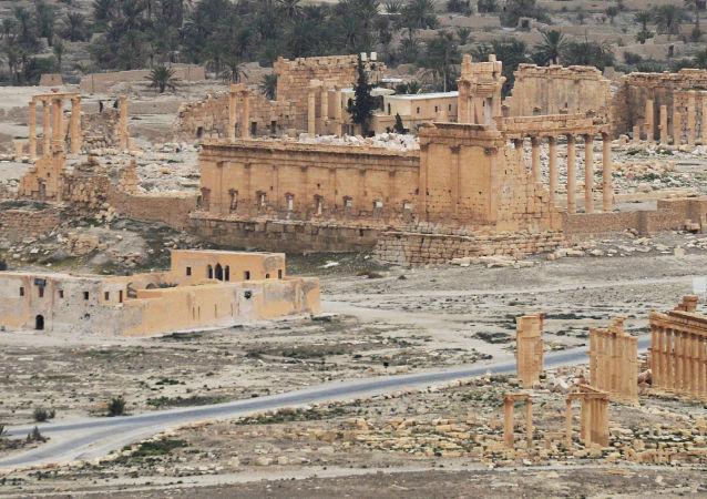 聯合國教科文組織代表:巴爾米拉的世界文化遺產總體上得以保留