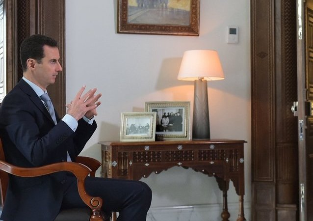 敘總統阿薩德接受衛星通訊社專訪