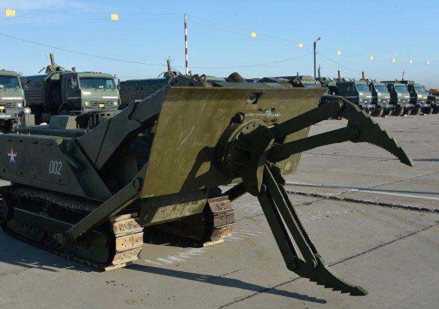 俄第2批工兵以及「天王星-6」掃雷系統已經抵達敘利亞 將為巴爾米拉排雷