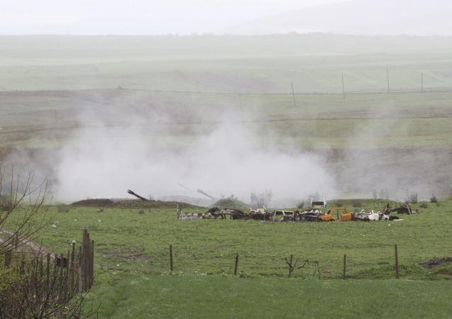 亚美尼亚国防部:一名军人因公殉职