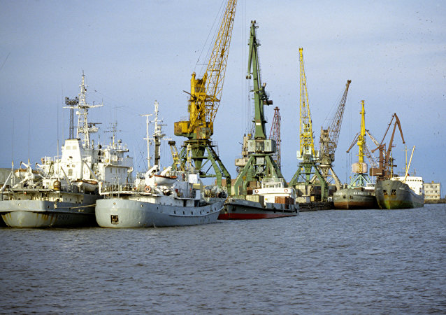 阿穆尔河畔尼古拉耶夫斯克河港口