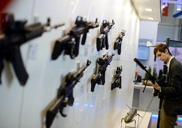 俄方称或在非洲进行卡拉什尼科夫自动步枪的授权生产