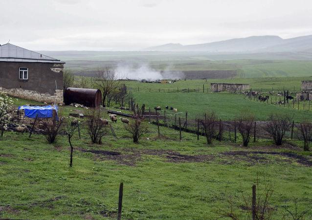 Боевые действия зоне карабахского конфликта
