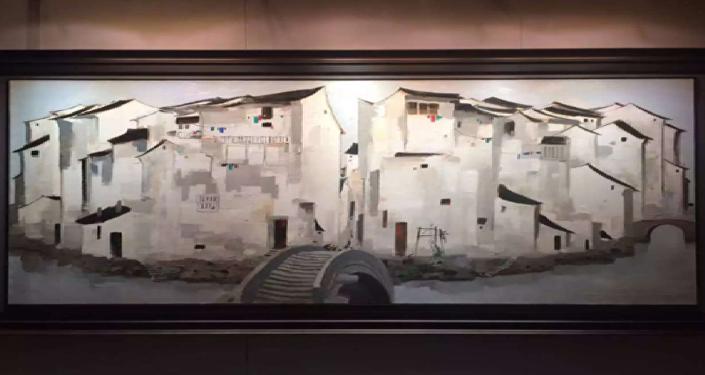 中国著名画家吴冠中油画拍出3千万美元天价