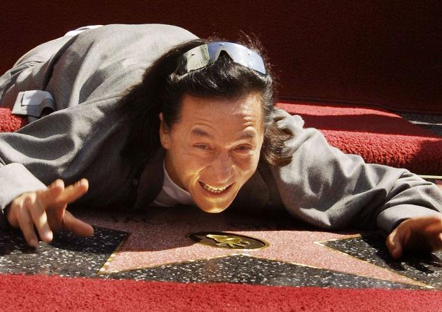 成龙在好莱坞的星光大道上,2002年