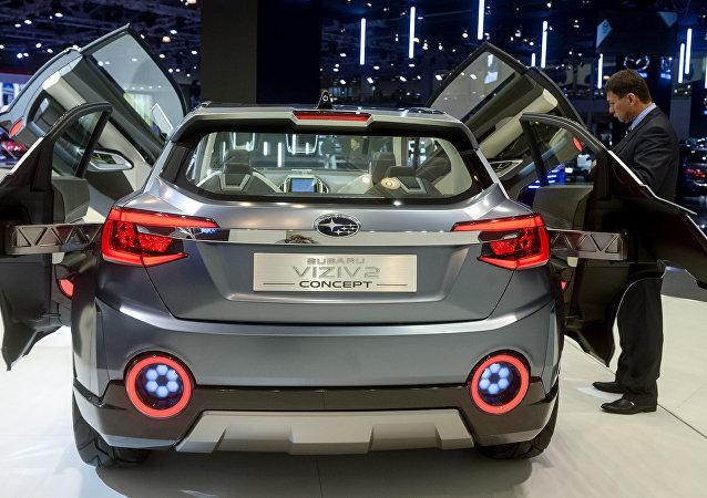 斯巴鲁因刹车灯开关问题将从全球召回售出的200多万台汽车