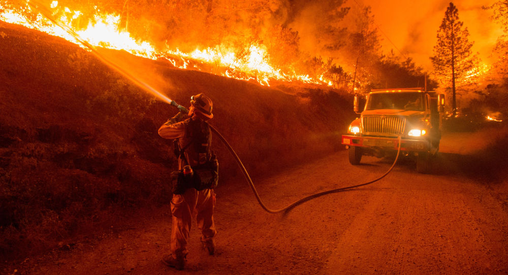 美国加州政府:森林火灾已致175座房屋被毁