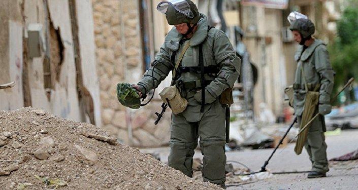 叙利亚工兵在霍姆斯省又排雷2公顷