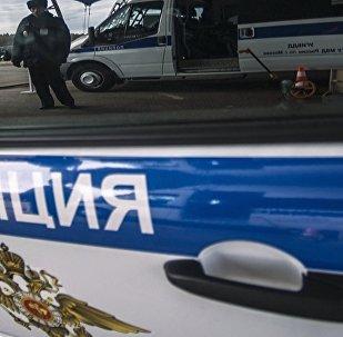 俄羅斯警車