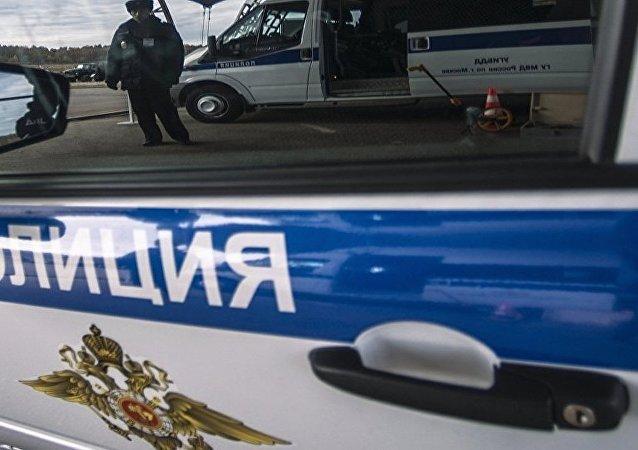 俄罗斯警车