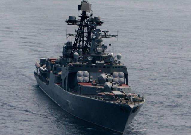 """""""维诺格拉多夫海军上将""""号大型反潜舰"""