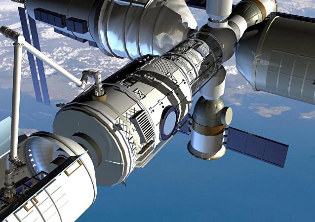 天宮二號軌道站