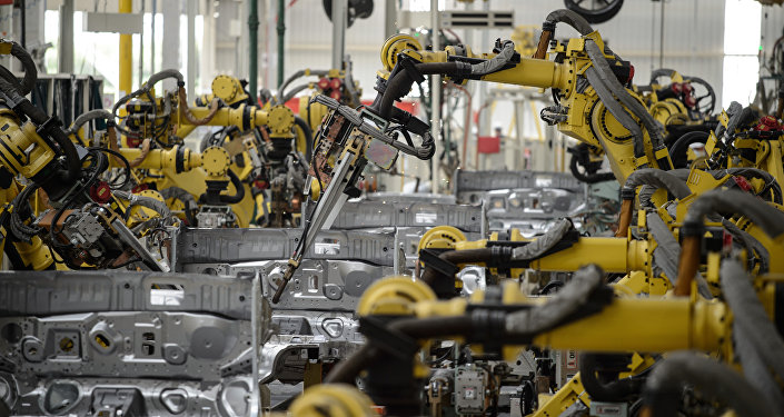 中国工业机器人需求增长保证了2015年全球销售额的飞跃
