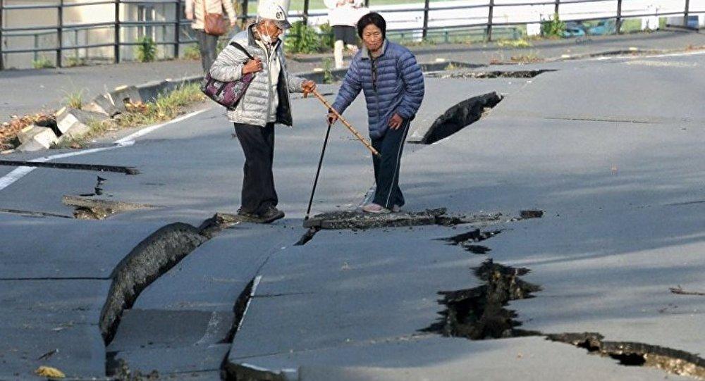 克里姆林宮:普京就日本地震導致人員傷亡向安倍晉三表示哀悼