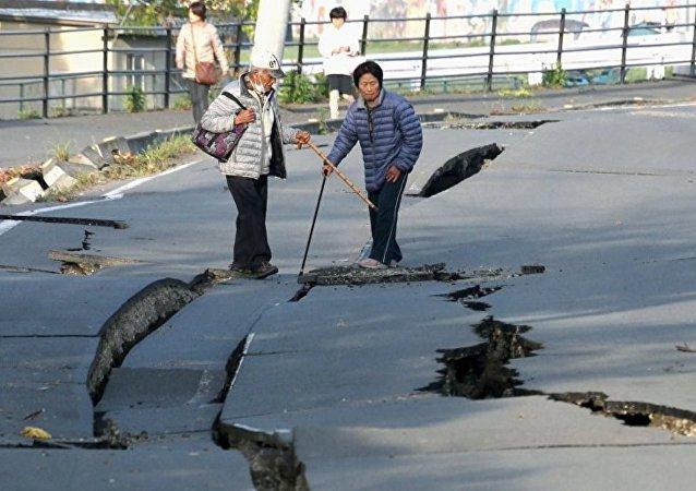 日本地震 (資料圖片 /Archive)