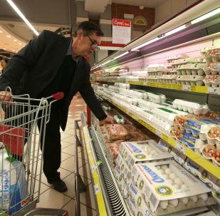 俄农业部指出连锁店个别食品价格有所上涨