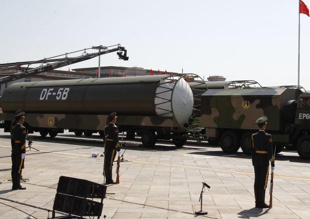 博尔顿:中国弹道导弹总数的一半与中导条约不符