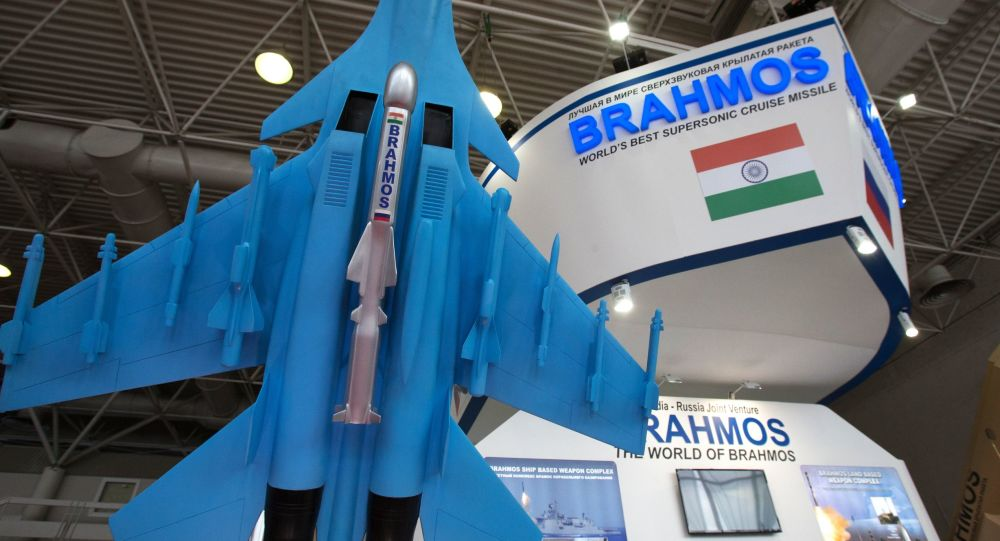 印度空軍首批兩架蘇-30MKI戰機換裝「布拉莫斯」導彈