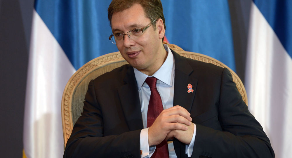 克宫:普京祝贺武契奇当选塞尔维亚总统