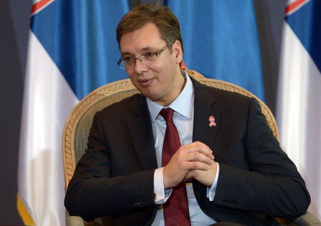 塞爾維亞總統:加入歐盟是該國外交政策的主要優先選項