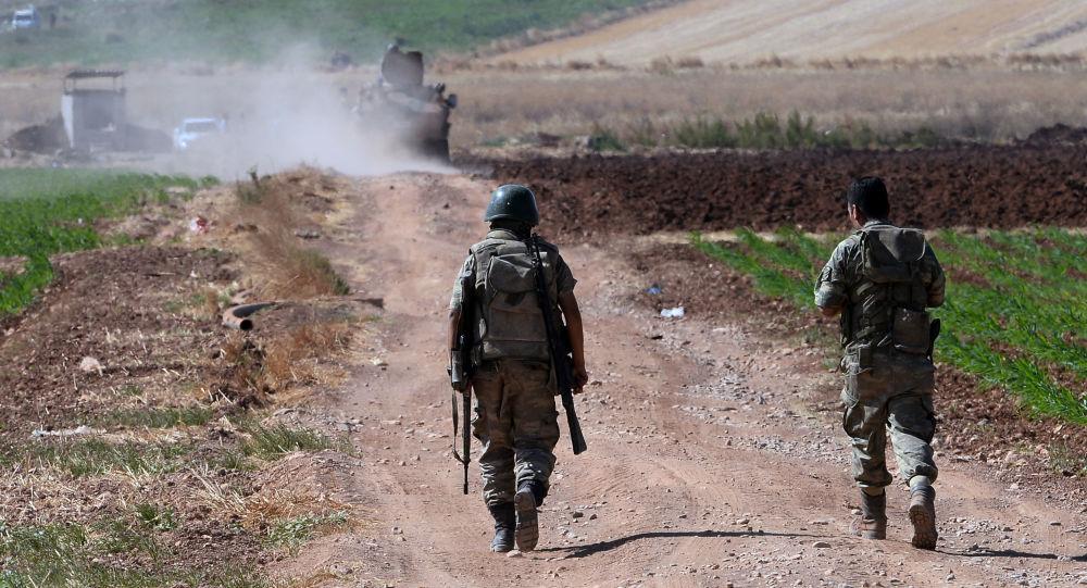 土耳其国防部长:叙利亚自由军在控制叙北部之前 土军不会从该地区撤出