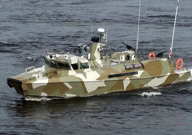 俄黑海艦隊接裝最新型「猛禽」級巡邏艇