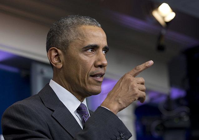 奥巴马称奥兰多枪击事件系恐袭和仇恨行为