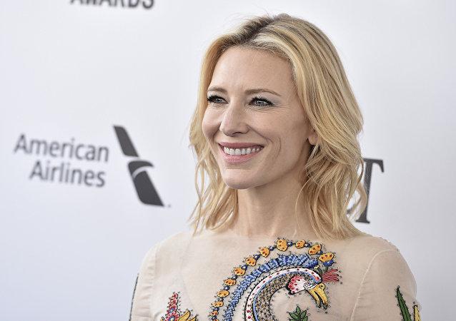演員凱特·布蘭切特成為聯合國難民署親善大使