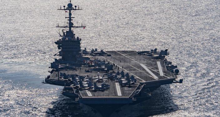美國海軍「杜魯門」號航母戰鬥群前往地中海