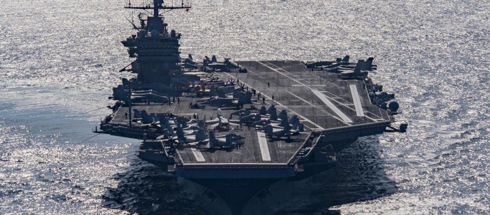 美国自2003年以来首次从航母打击中东目标