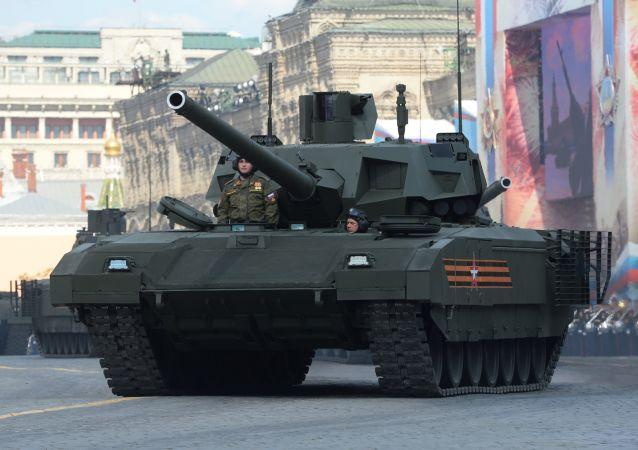 """美《国家利益》杂志解密俄阿玛塔坦克""""秘密武器"""""""